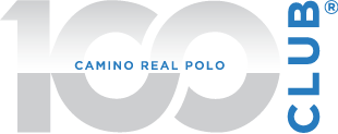 100 club logo - polo clubs membership camino real