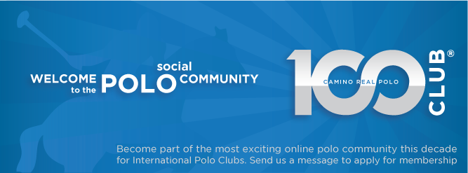 club100 membership, polo, camino real, polo clubs