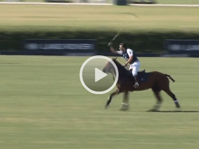 facundo pieres video, final between Royal Salute and HB Polo