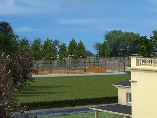 Tennis and Paddle Tennis Facilities will be available from Q1 2014.